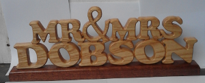 CNC Carved Letters