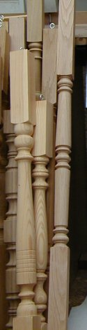 Selection of balusters