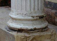 Old column base
